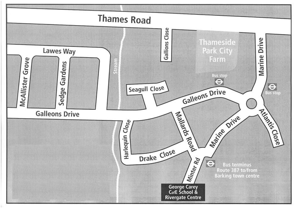 Rivergate Centre Map